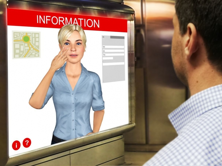 AVASAG - 3D sign language avatar for automated translation of text into signs