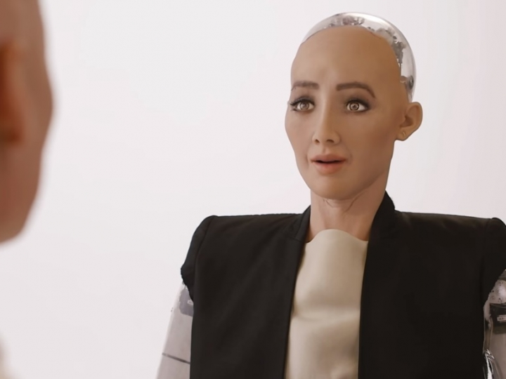 Roboter becomes citizen in Saudi Arabia