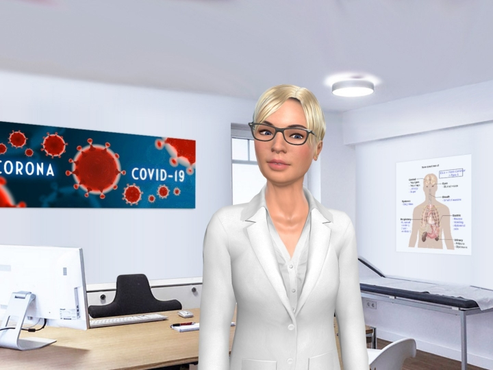 Covid-19 - Charamel supports for free with intelligent assistant Gloria